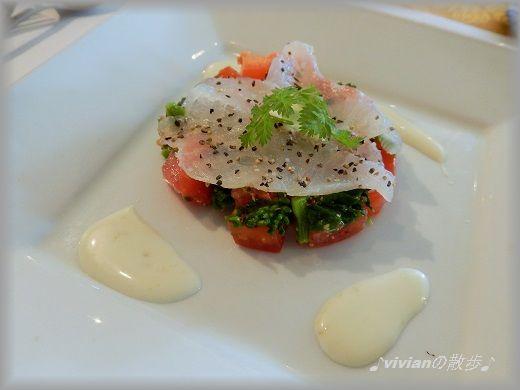 トマトと菜の花と真鯛のカルパッチョ.jpg